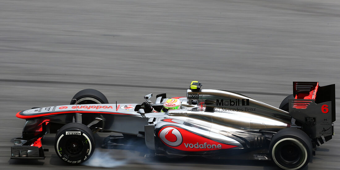 Perez GP Malaysia 2013