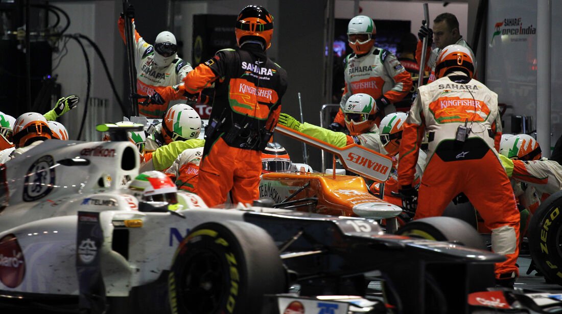 Perez & Hülkenberg - GP Singapur 2012