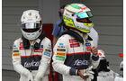 Perez & Kobayashi - Sauber - Formel 1 - GP Japan - Suzuka - 6. Oktober 2012