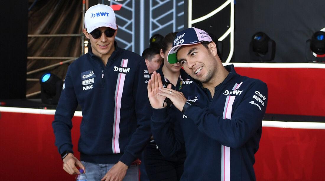 Perez & Ocon - GP Russland 2018