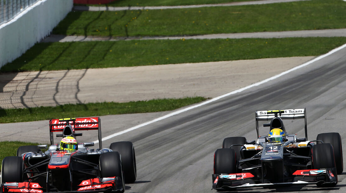 Perez vs. Gutierrez - GP Kanada 2013