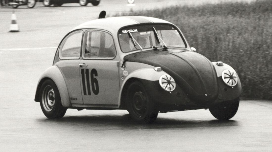Peter Sauber im Käfer