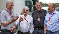 Peter Voll - Bernie Ecclestone - Paul Rosche - Raimund Kupferschmid - Formel 1