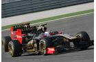 Petrov Heidfeld GP Türkei 2011
