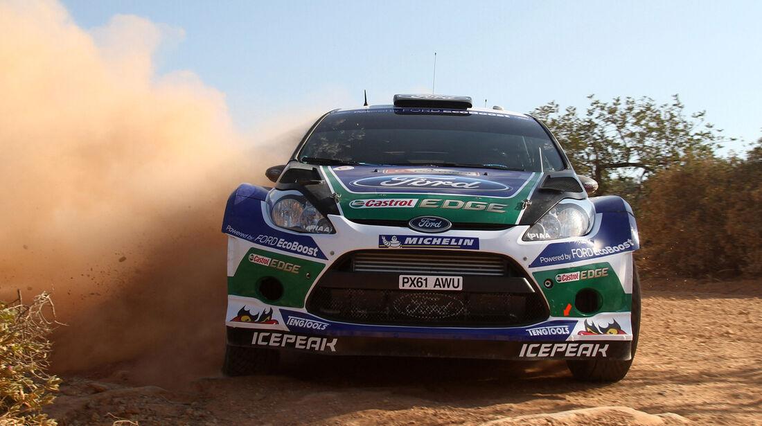 Petter Solberg Rallye Portugal 2012