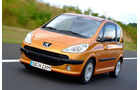 Peugeot 1007, Frontansicht