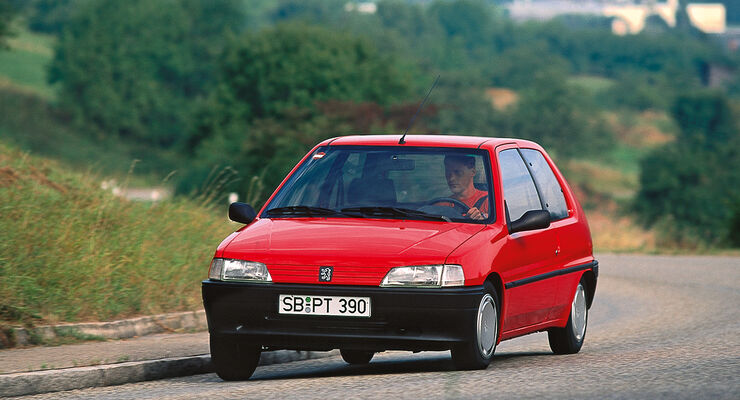 Peugeot 106, Frontansicht