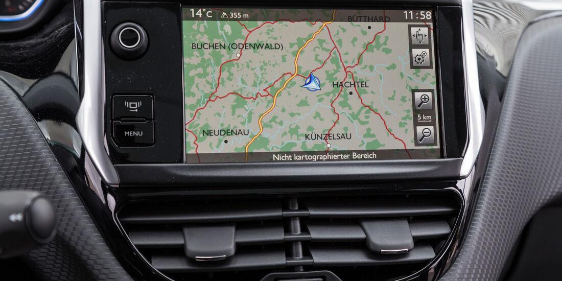 Peugeot 2008 120 Vti, Navi, Bildschirm