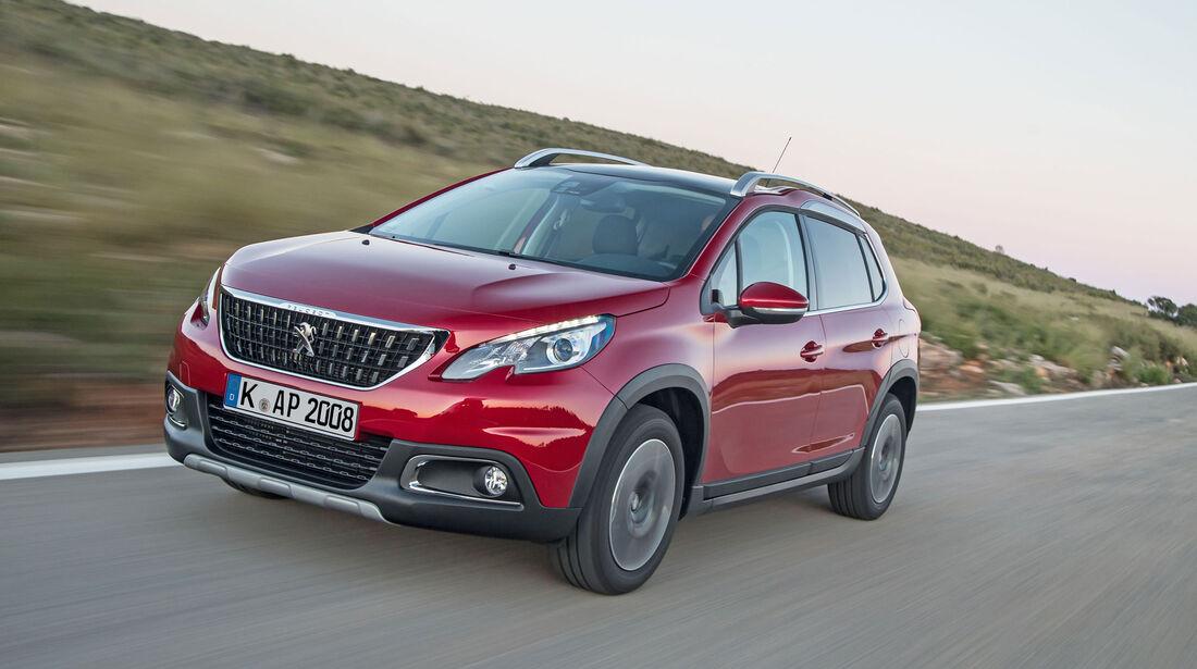 Peugeot 2008 Modelljahr 2017 HiRes