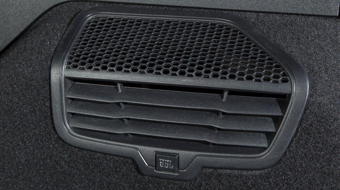 Peugeot 2008 e-HDi 115, Luftausströmer