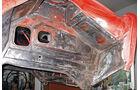 Peugeot 204 Cabriolet, Hilfsrahmen