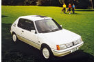 Peugeot 205, Frontansicht