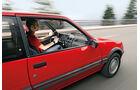 Peugeot 205 GTi, Fahrersicht