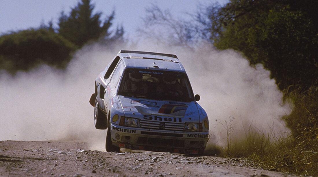 Peugeot 205 im Rallye-Sport