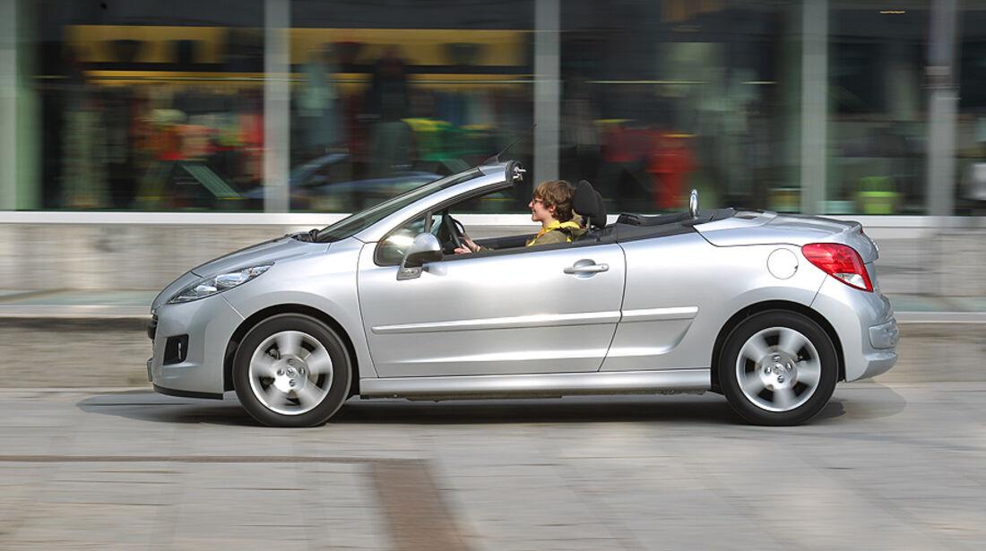 Peugeot 207 CC, Cabrio, Seitenansicht
