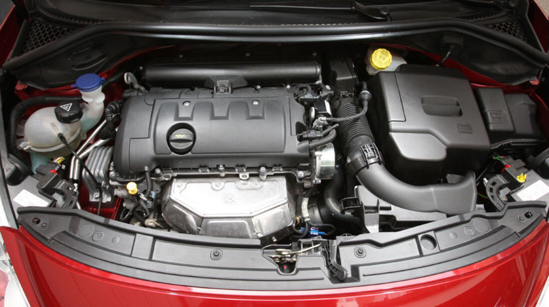 Peugeot 207 Vti, Motor