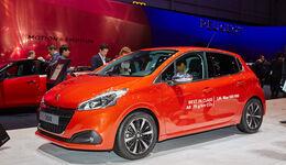 Peugeot 208 Facelift Autosalon Genf