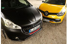 Peugeot 208 GTi 30th, Renault Clio R.S., Motorhauben