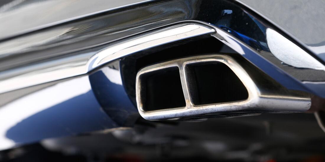 Peugeot 208 GTi, Auspuff, Endrohr