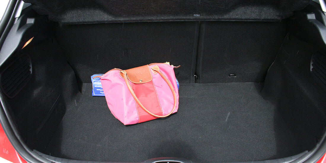 Peugeot 208, Innenraum-Check, Kofferraum