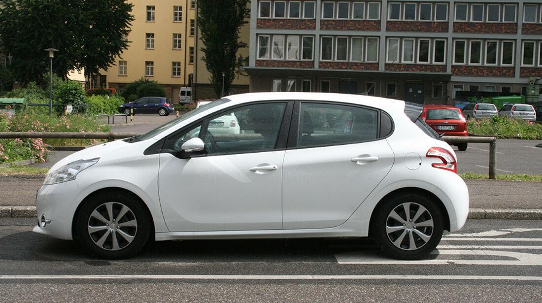 Peugeot 208, Innenraum-Check, Seitenansicht