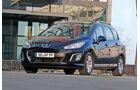Peugeot 308 Kombi, Seitenansicht