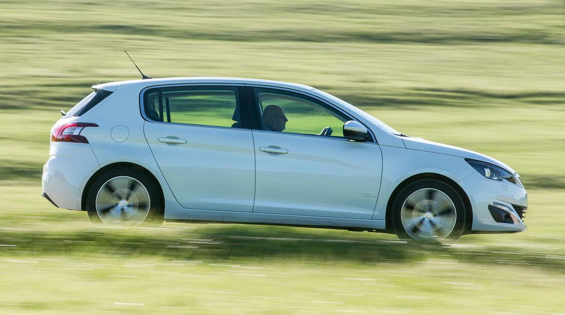 Peugeot 308 e-HDI 115, Seitenansicht