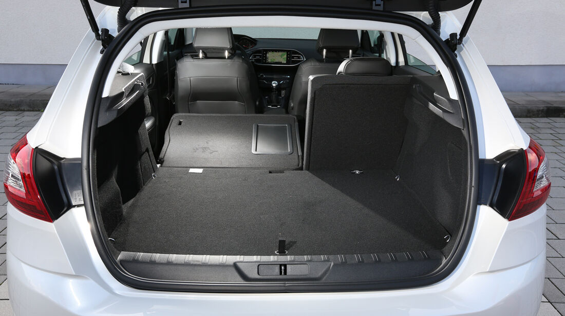 Peugeot 308 e-HDi 115, Kofferraum