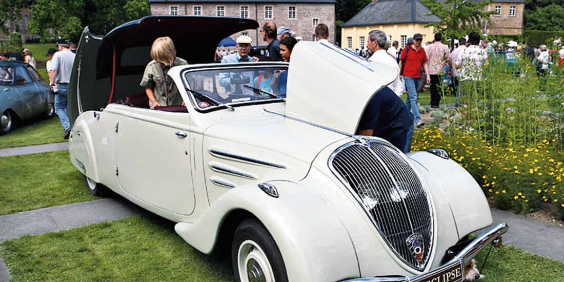 Peugeot 402 Eclipse, Jewels in the Park, Classic Days Schloss Dyck