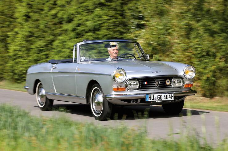 Peugeot 404 C Super Luxe, Frontansicht