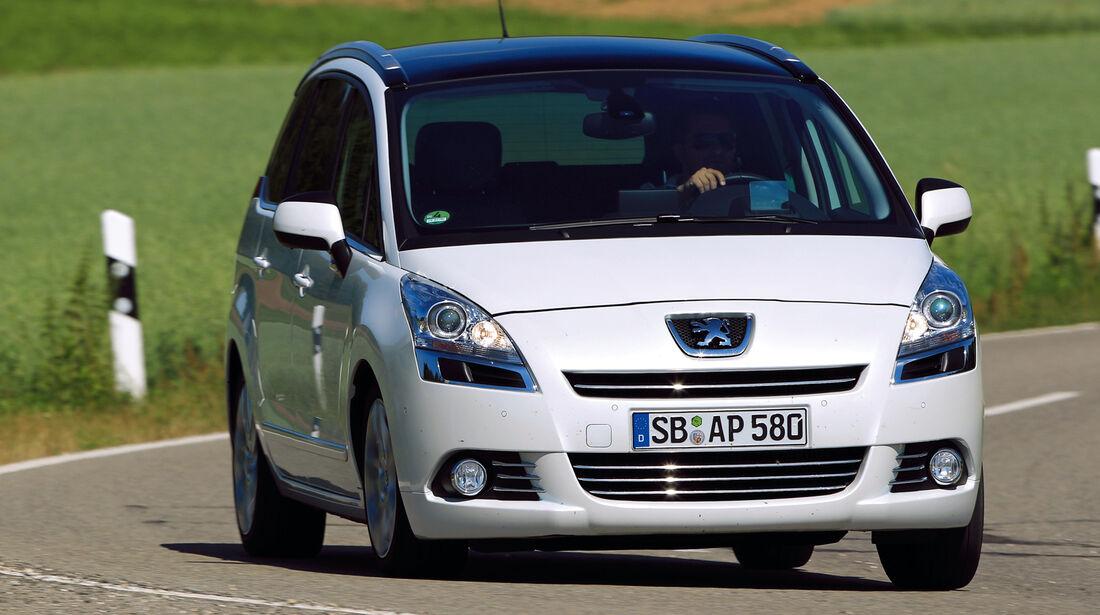 Peugeot 5008, Frontansicht