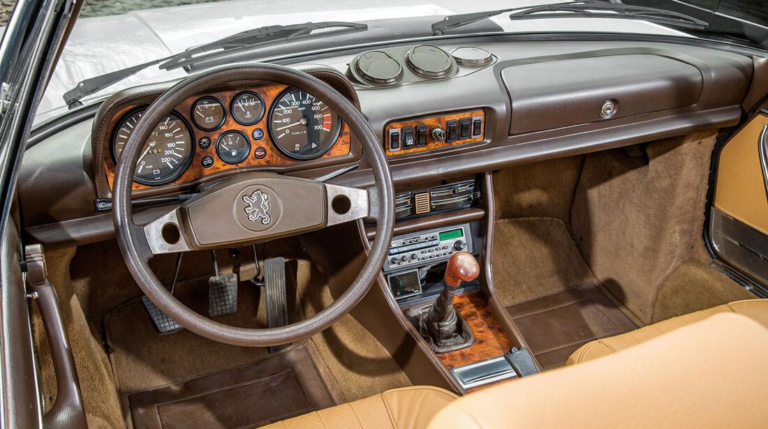 Peugeot 504 TI Cabrio, Cockpit