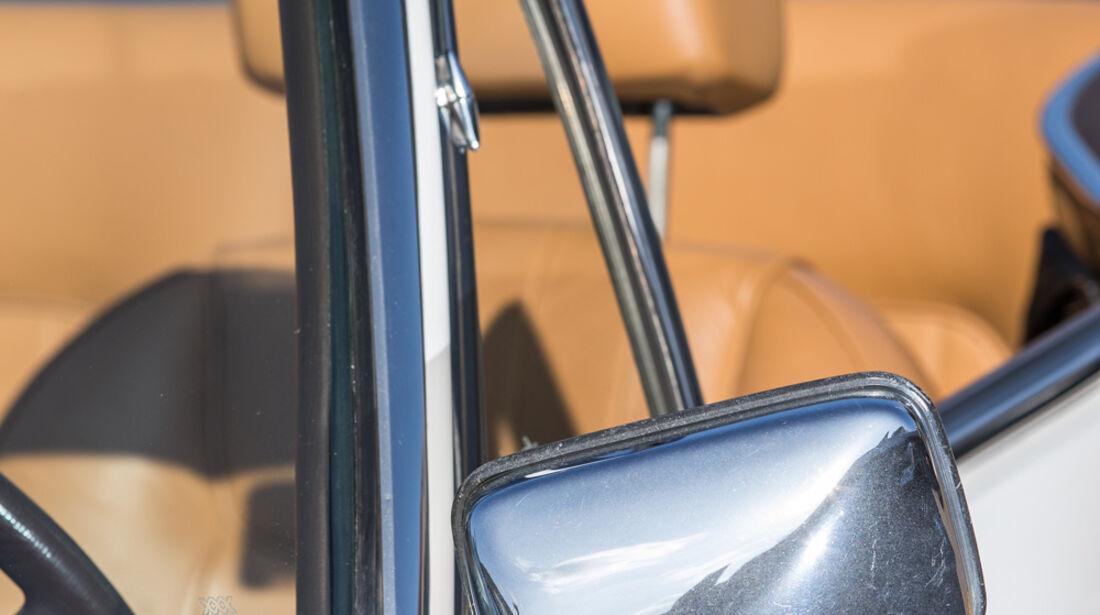 Peugeot 504 TI Cabrio, Rückspiegel