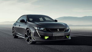 Peugeot 508 Concept Sperrfrist 21.02.2019, 04:00 Uhr MEZ