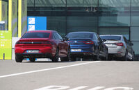 Peugeot 508 Puretech 225, Renault Talisman Tce 200, Skoda Superb 2.0 TSI, Exterieur