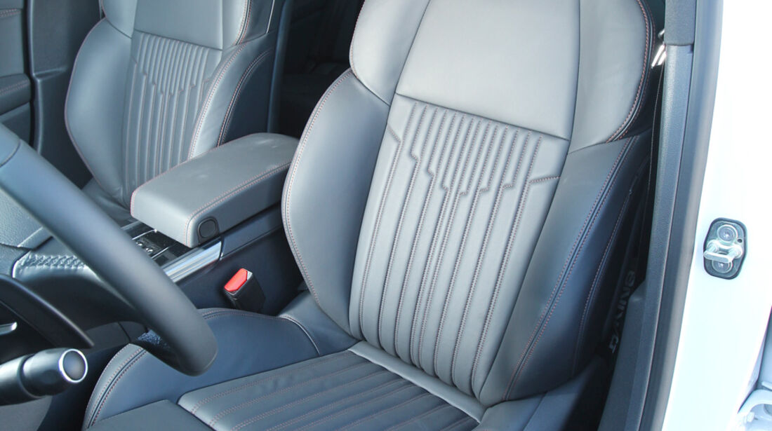 Peugeot 508 RXH, Fahrersitz, Vordersitz