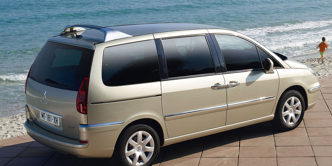 Peugeot 807 Facelift 2012