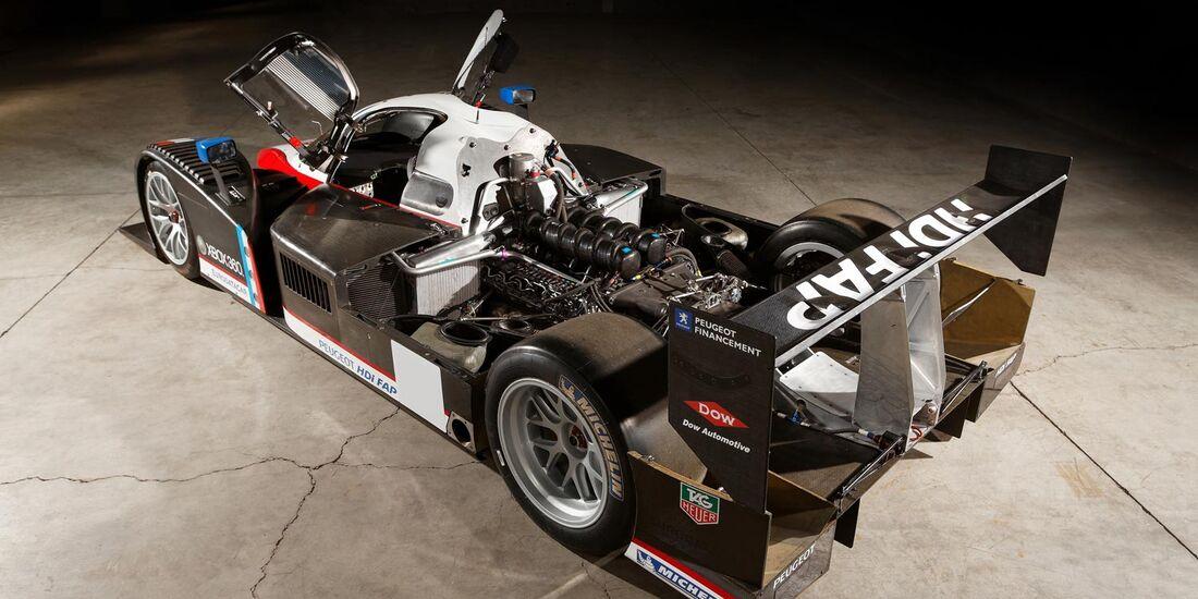 Peugeot 908 V-12 Hdi FAP Le Mans Racing Car RM Auctions Monaco 2012