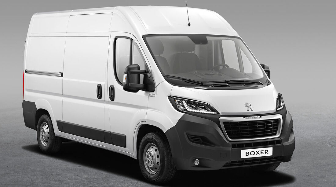 Peugeot Boxer facelift 2014