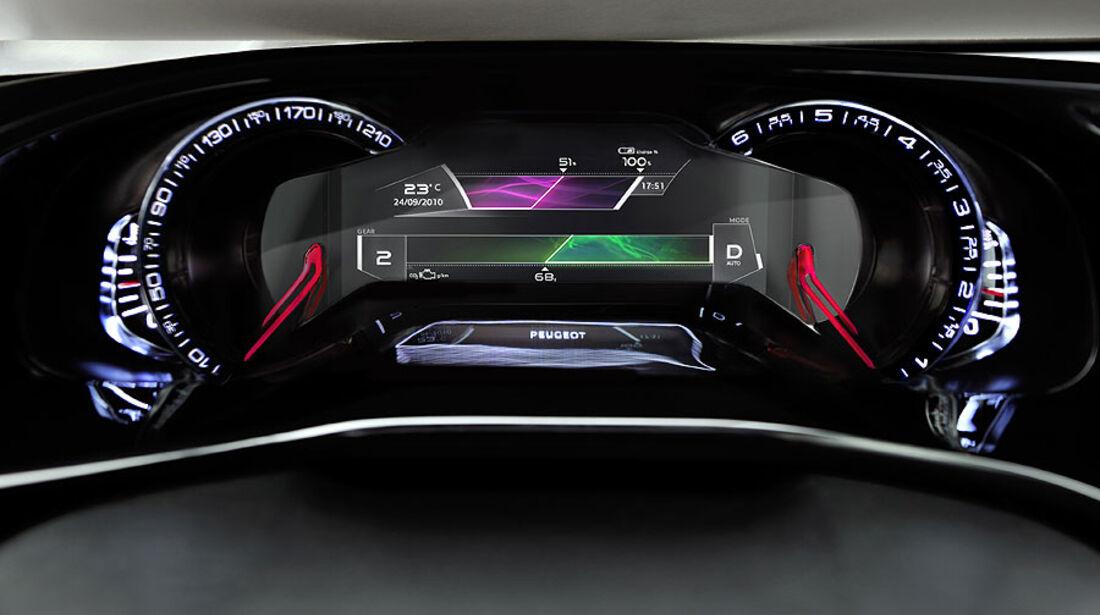 Peugeot HR 1, Instrumente