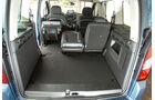 Peugeot Partner Tepee 98 VTi Active, Kofferraum, Ladefläche