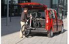 Peugeot Partner Tepee, Heckklappe, Kofferraum