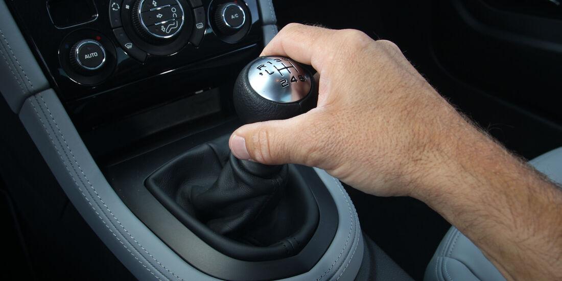 Peugeot RCZ, Schalthebel, Schaltknauf