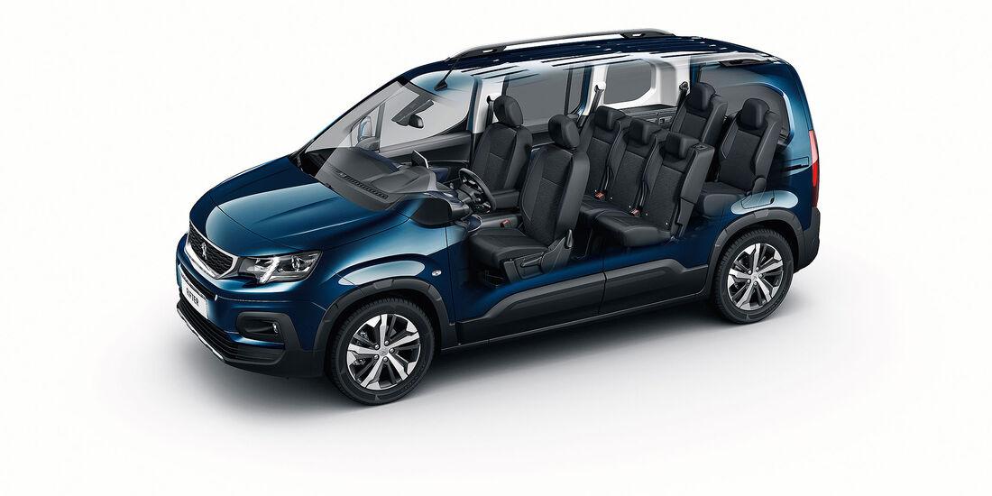 Peugeot Rifter 2018 Fünfsitzer