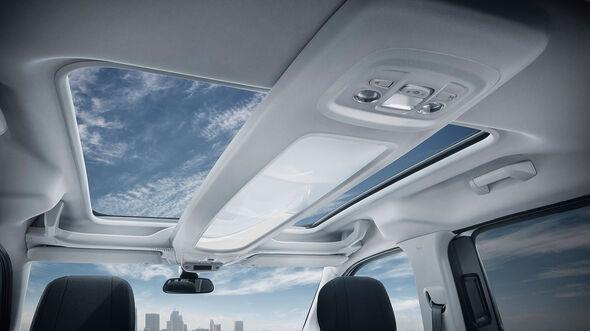 Peugeot Rifter 2018 Interieur Panoramadach