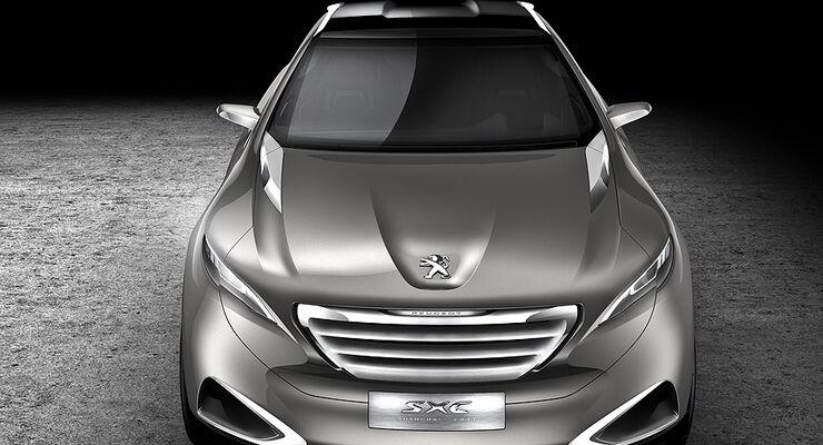 Peugeot SxC, Conceptcar, Front
