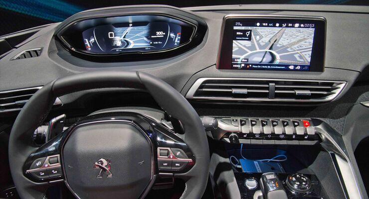 peugeot icockpit neue generation 2016 - auto motor und sport