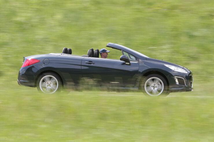 peugot 308 cc 155 thp im fahrbericht guter durchzug top serienausstattung auto motor und sport. Black Bedroom Furniture Sets. Home Design Ideas