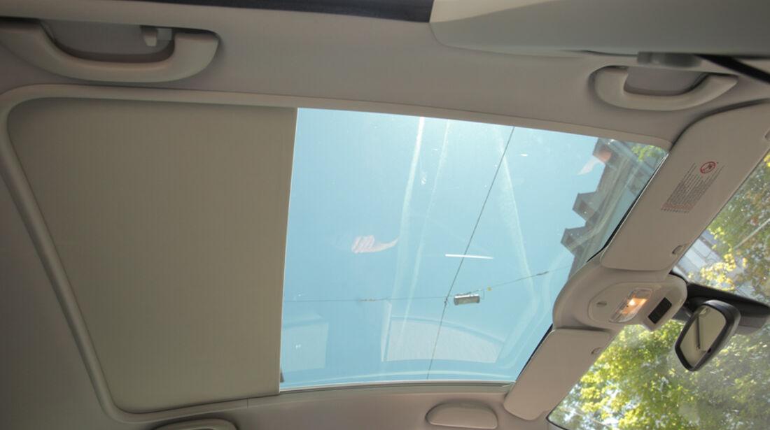 Peugot 308 Vti 120, Innenraum, Panoramafenster