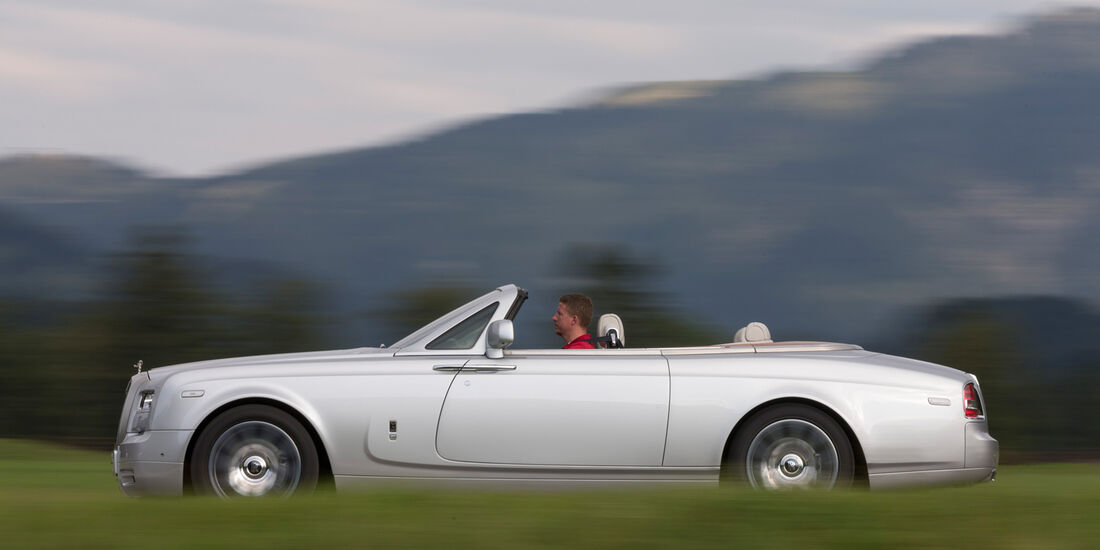 Phantom Series II Drophead Coupé, Seitenansicht